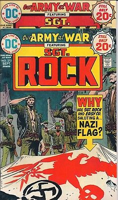 "Dc Our Army At War Sgt. Rock  #272,273 Sept,oct 1974  ""the Bloody Flag!"""