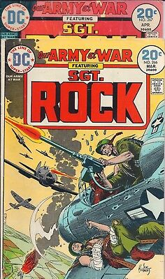 "Dc Our Army At War Sgt. Rock  #266,267 Mar,apr 74 ""the Sorcerer's Apprentice !"""