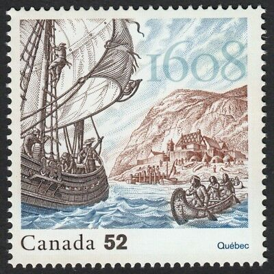 400 Years of FRENCH SETTLEMENT = 5th stamp of 5 year set = MNH Canada 2008 #2269