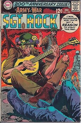 Dc Comics - Our Army At War Sgt. Rock - #200 Dec 1968 200Th Anniversary Issue