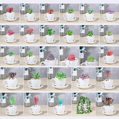 1pc Hot Artificial Succulents Plant Garden Lotus Cactus Floral Patio Home Decor