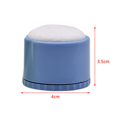 Dental File Disinfection Acupuncture Cleaning Box Round Endo Stand Blue
