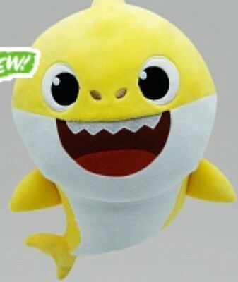 PINKFONG Baby Shark Yellow Official English Singing Plush Hard To Find Sold out!