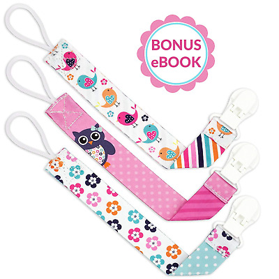 Liname Dummy Clip for Girls with BONUS eBook - 3 Pack Gift Packaging -...
