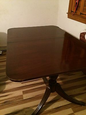 Bernhardt 328 Solid Mahogany Dining Table Seats 8