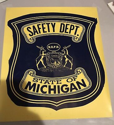 """Police Door Decal Public Safety 15.5""""x13.25"""""""