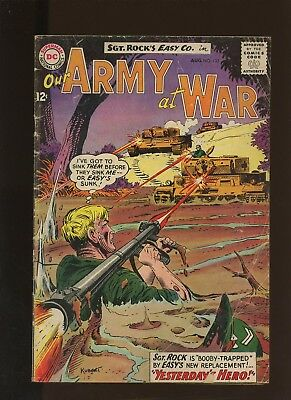 Our Army At War 133 FN 6.0 * 1 Book Lot * DC! Horror! Action! Sgt. Rock! Easy!