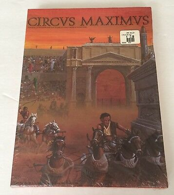 Circus Maximus Board Game SEALED MINT!! 1980's VINTAGE. GREAT GIFT!!