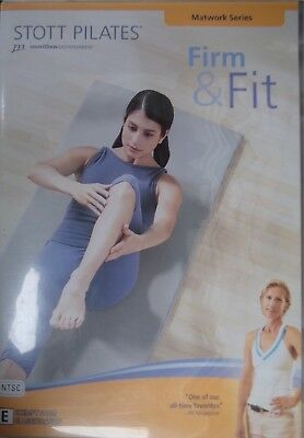 STOTT PILATES - Firm & Fit DVD Moira Merrithew AS NEW!