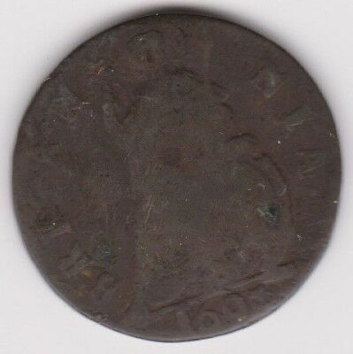 Farthing 1697 William III  as shown
