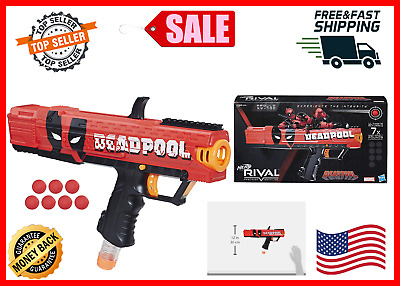Nerf Rival Deadpool Apollo XV 700 Blaster Gun LIMITED EDITION Toy for Kids NEW