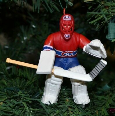 Patrick Roy Montreal Canadiens Red Jersey Christmas Tree Ornament NHL