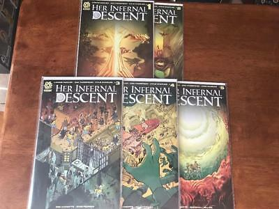 Aftershock Comics Her Infernal Descent #1-5 Complete Series NM/MT