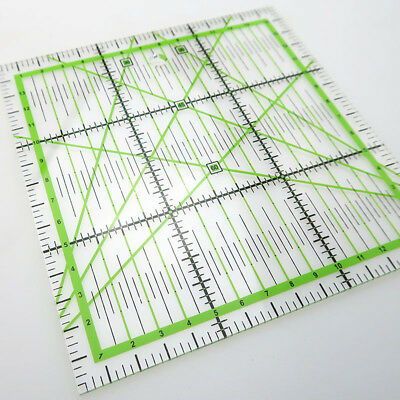 Clothing Ruler Acrylic Quilting Making Patchwork Premium Craft Sewing 15*15cm