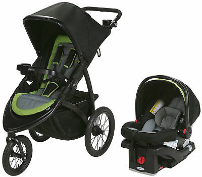 Graco Baby RoadMaster Jogger Travel System Jogging StrollerwithInfantCarSeat