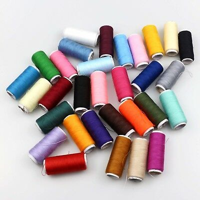 2Pcs Spools Finest Quality Sewing All Purpose 100% Pure Cotton Thread Reel