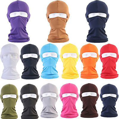 Motorcycle Biker Neck Warmer Protecting Outdoor lycra Balaclava  Full Face Mask
