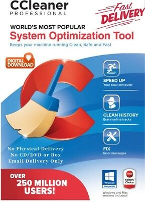 CCleaner Professional 5.47 2018 For Windows Full Version & Lifetime License