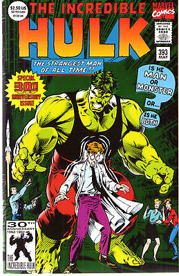 INCREDIBLE HULK (1968) #393 - Foil Cover - Back Issue