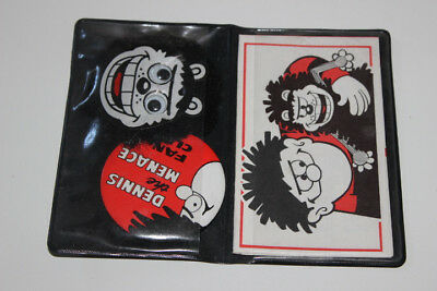 Dennis The Menace Fan Club Wallet And Badges Beano Comic