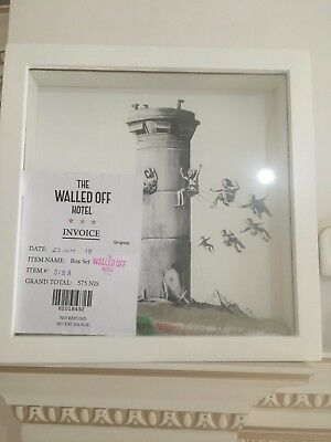 Banksy Walled Off Hotel Original Box Set