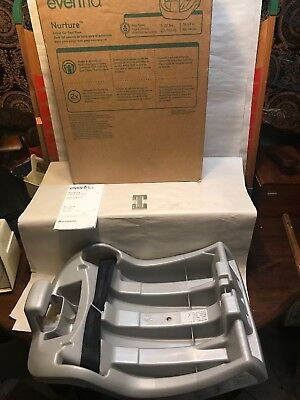 Evenflo Nurture Infant Car Seat Base New In Box