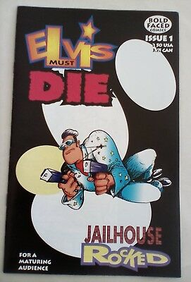 Elvis Must Die #1 - Bold Faced Comics - 2000 - MINT CONDITION