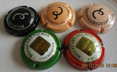 Lot de 5 Capsule Champagne BILLECART SALMON