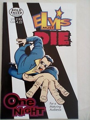 Elvis Must Die #4 - Bold Faced Comics - 2000 - MINT CONDITION