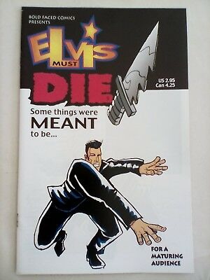 Elvis Must Die #5 - Bold Faced Comics - 2000 - MINT CONDITION