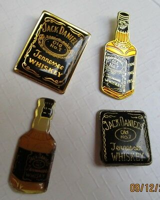 WHISKY Jack Daniels - lot de 4 pins