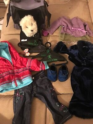 authentic american girl doll clothes lot