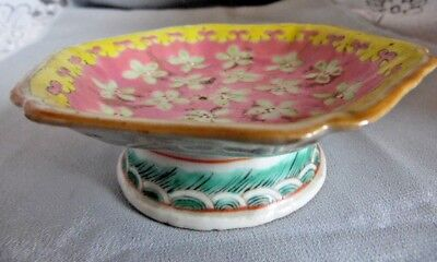 Antique Chinese Qing Tongzhi Famille Rose Porcelain Bowl