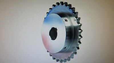 Browning 4032X 1 1/4 Finished Bore Roller Chain Sprocket, Single Strand, Steel,