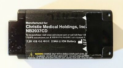 Christie Spare Battery (nb2037cd) For Veinviewer Flex