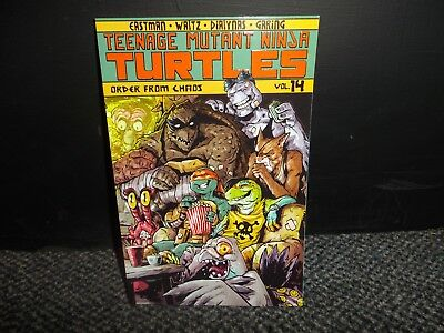 TMNT TEENAGE MUTANT NINJA TURTLES ONGOING VOL 14 ORDER FROM CHAOS reduced