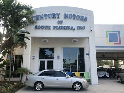 2003 Toyota Avalon  Leather Seats with Power Memory Lumbar CD Cassette