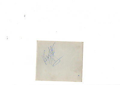 Buzz Clifford Signed Album Page