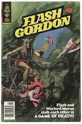 Flash Gordon #23 VF/NM 9.0 white pages  Gold Key  1979  No Reserve