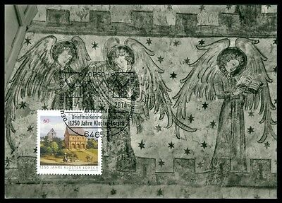 BRD MK 2014 KLOSTER LORSCH ABBEY MAXIMUMKARTE UNIKAT !! MAXIMUM CARD MC CM bp36