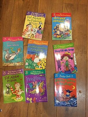 8 Colour Young Hippo books for early readers bundle set collection
