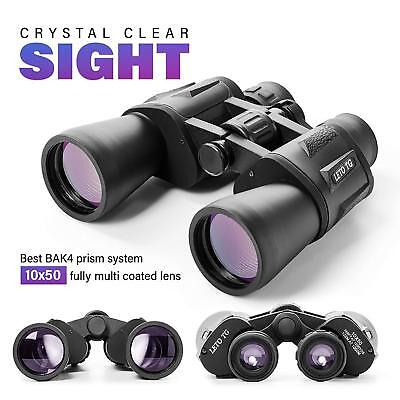 Premium 10 x 50 Binoculars With BK4 Prism, Fully Multi-Coated Lens, Waterproofff