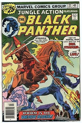 Jungle Action #21 VF/NM 9.0 ow/white pages  Black Panther  Marvel  1976  No Resv