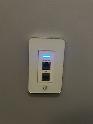 Ubiquiti UAP-IW UniFi AP In-Wall Access Point 2.4Ghz 802.11n 150Mbps PoE