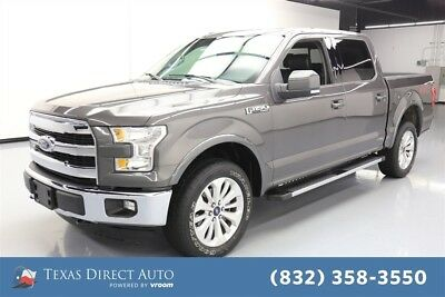 2015 Ford F-150 Lariat 4dr SuperCrew 4WD Texas Direct Auto 2015 Lariat 4dr SuperCrew 4WD Used 5L V8 32V Automatic 4WD