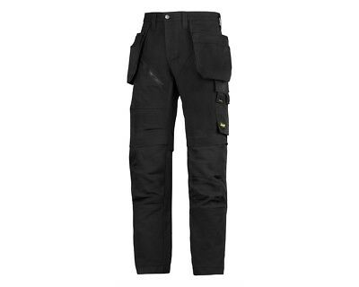 """SNICKERS 6203 RUFFWORK WORK TROUSER SIZE 92 (30""""s) BLACK HOLSTER POCKETS RRP£80"""