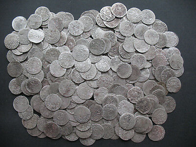 Lot of 70pcs. 3 Polker, Silver, Gustav II Adolf, Christina Vasa