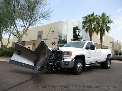2016 GMC Sierra 3500HD 4x4 with Fisher Snow Plow, Call Matt 480-628-9965