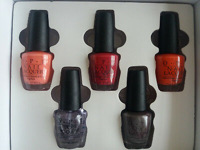 OPI Professional Nail Polish - 5 Piece Polish Set in Box - Worth £75.00