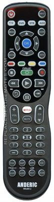 NEW ANDERIC 4-Device Universal Remote Control RRU401.2 Advanced Backlit with ...